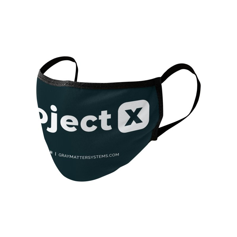 ProjectX Accessories Face Mask by graymattermerch's Artist Shop