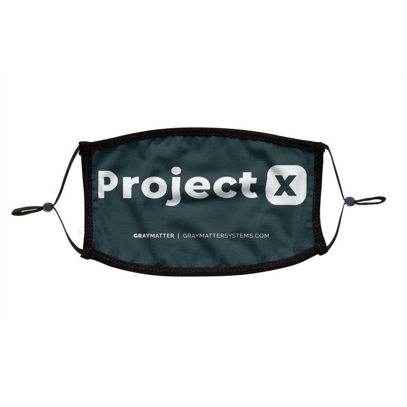ProjectX Accessories Face Mask by graymattermerch's Artist Shop