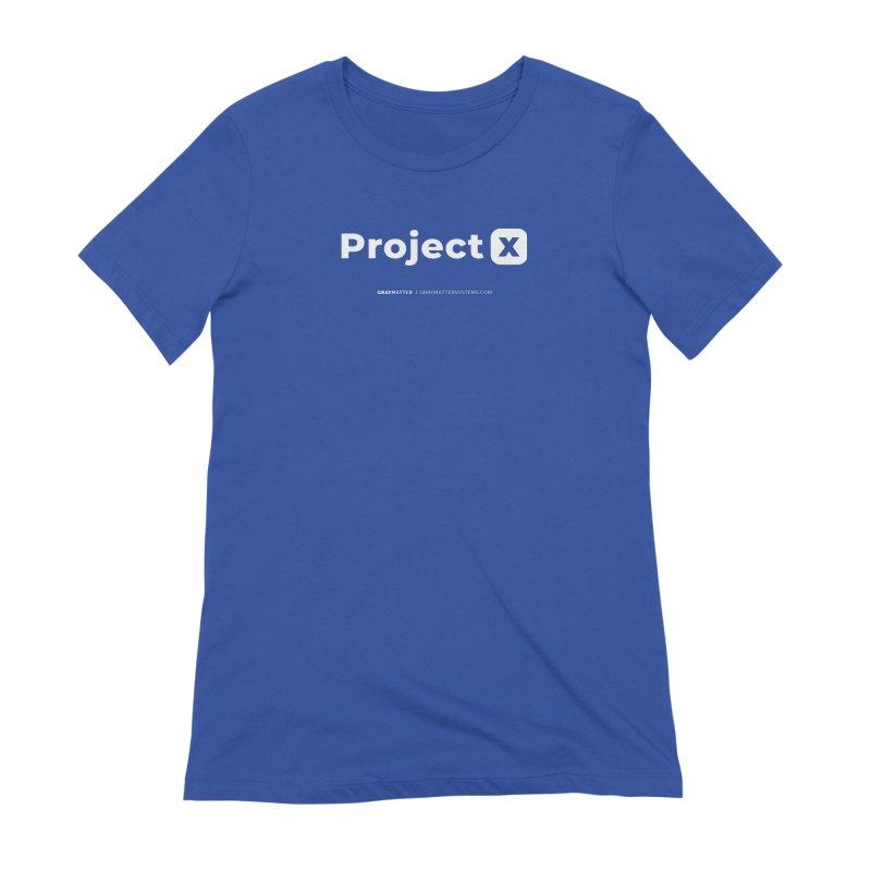 ProjectX Women's T-Shirt by graymattermerch's Artist Shop