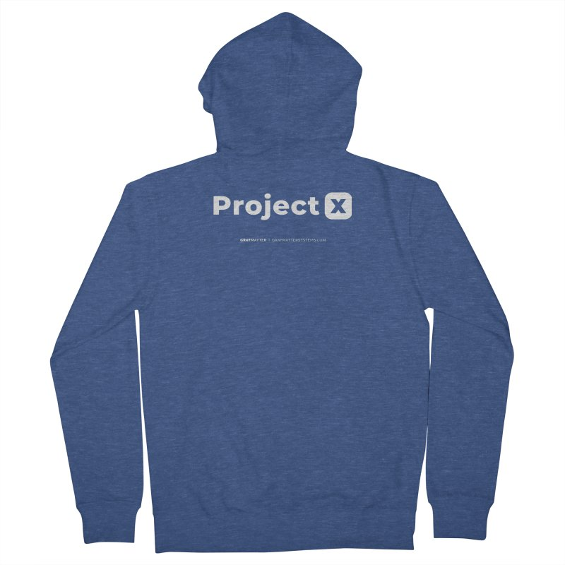 ProjectX Women's Zip-Up Hoody by graymattermerch's Artist Shop