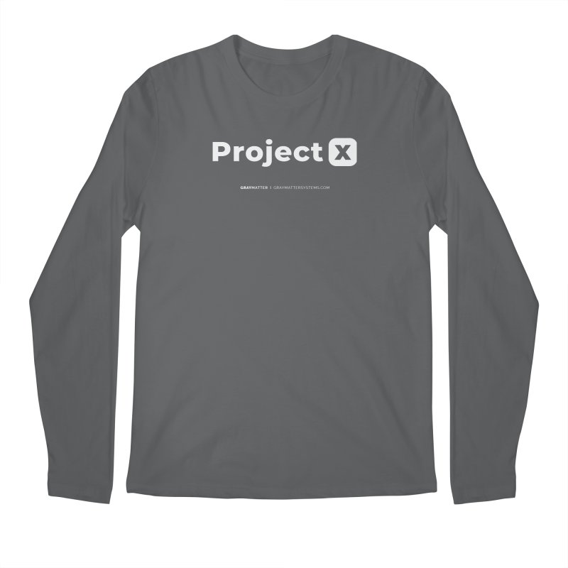 ProjectX Men's Longsleeve T-Shirt by graymattermerch's Artist Shop