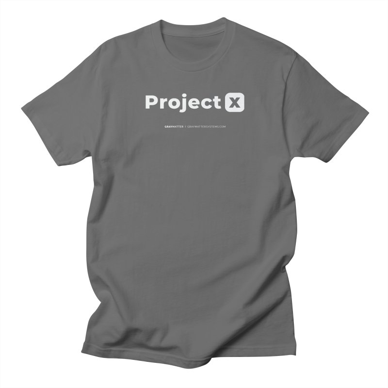 ProjectX Women's T-Shirt by graymattermerch's Artist Shop