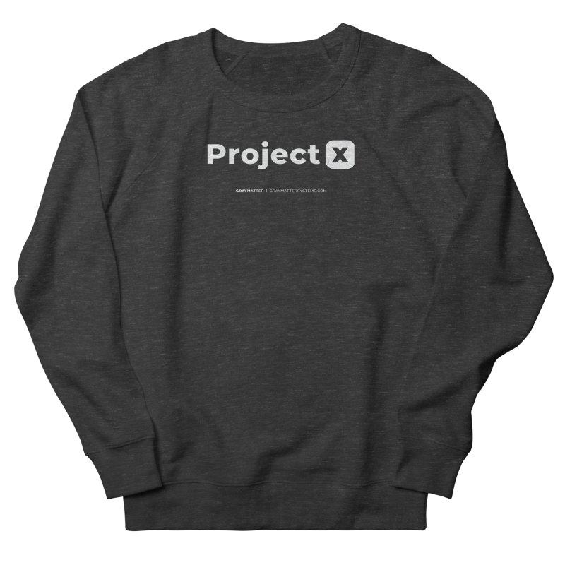 ProjectX Men's Sweatshirt by graymattermerch's Artist Shop