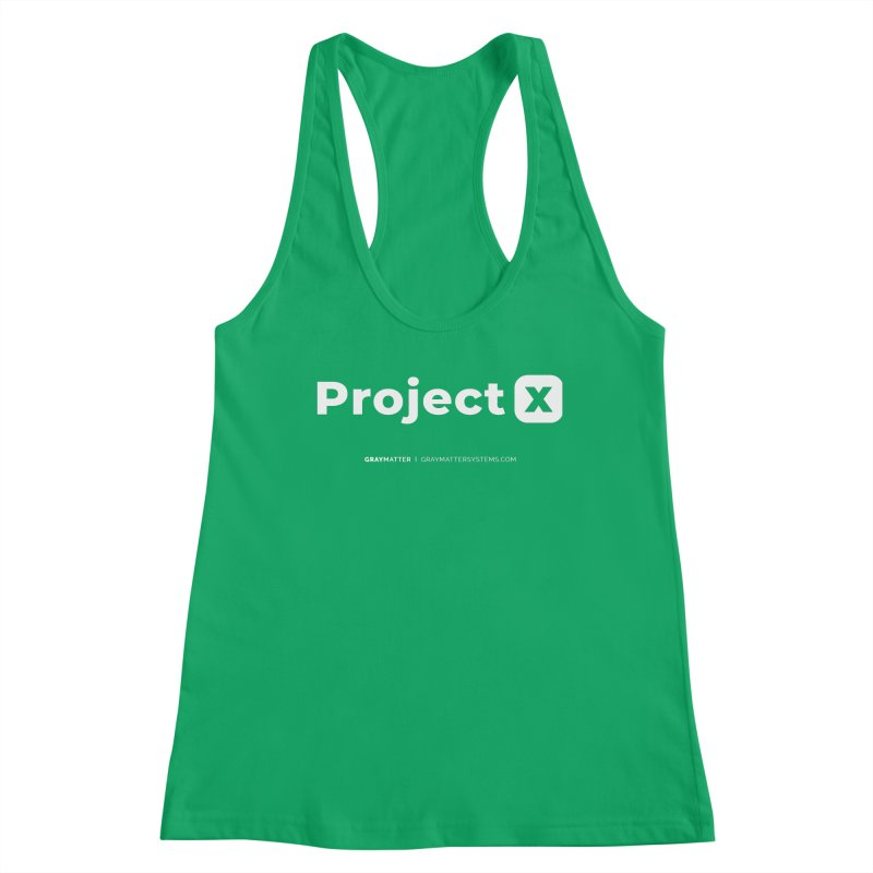 ProjectX Women's Tank by graymattermerch's Artist Shop