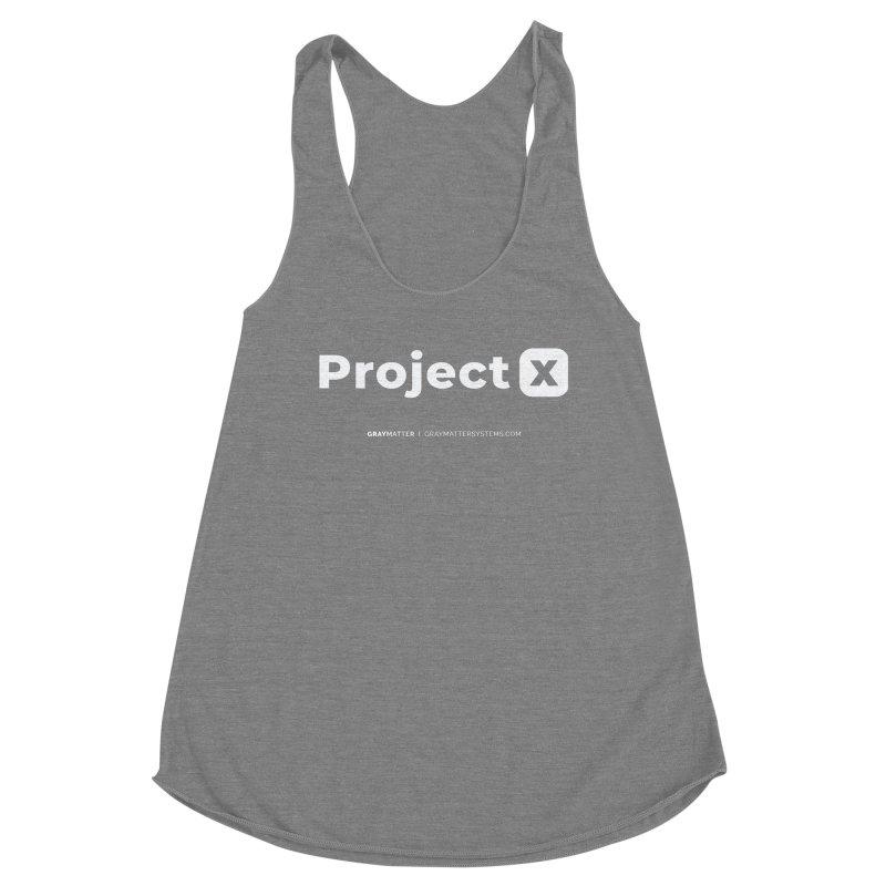 ProjectX Women's Tank by graymattermerch's Artist Shop