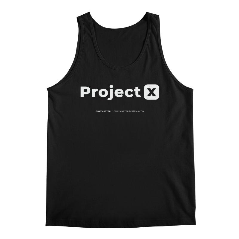 ProjectX Men's Tank by graymattermerch's Artist Shop