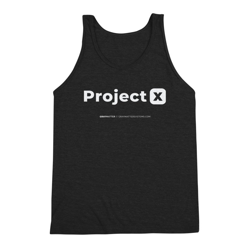 ProjectX Men's Tank by graymattermerch's Artist Shop