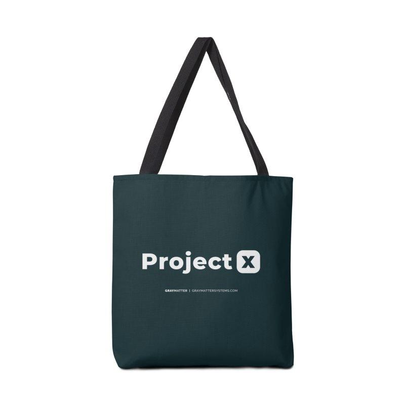 ProjectX Accessories Bag by graymattermerch's Artist Shop