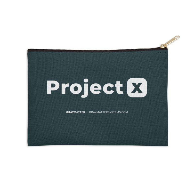 ProjectX Accessories Zip Pouch by graymattermerch's Artist Shop