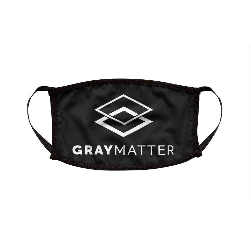 GrayMatter Accessories Face Mask by graymattermerch's Artist Shop