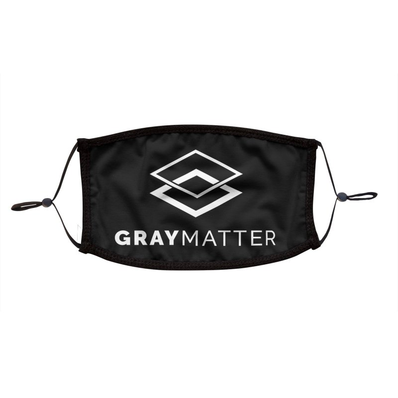 GrayMatter Accessories Face Mask by graymattermerch's Artist Shop