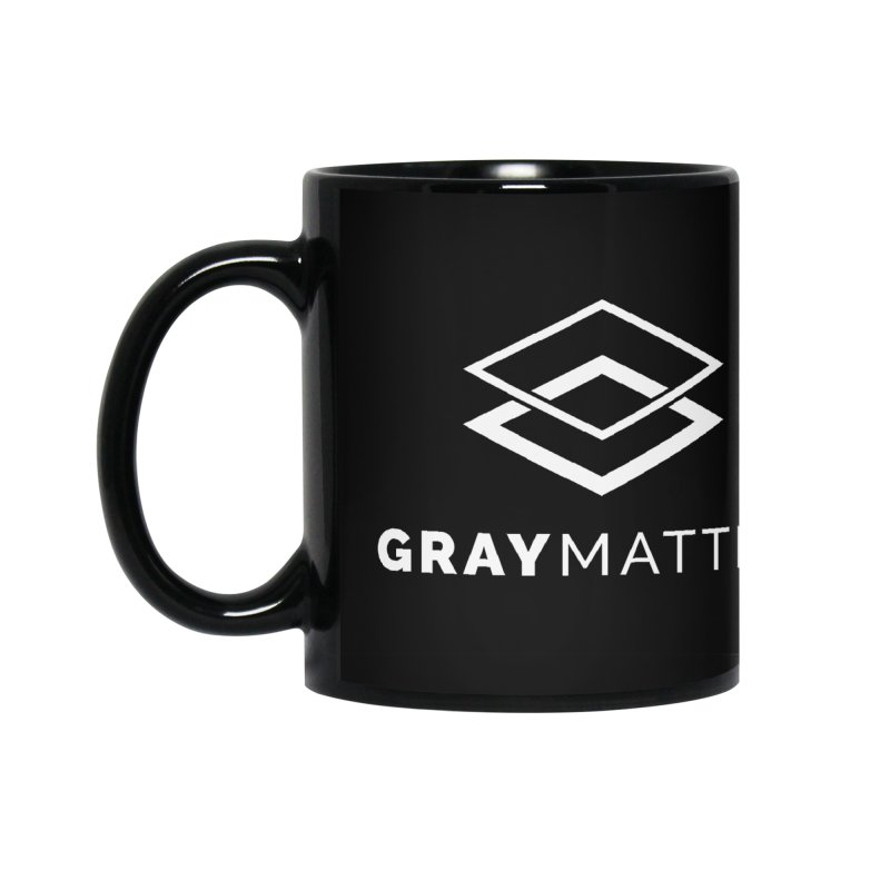 GrayMatter Accessories Mug by graymattermerch's Artist Shop