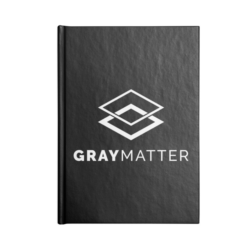 GrayMatter Accessories Notebook by graymattermerch's Artist Shop