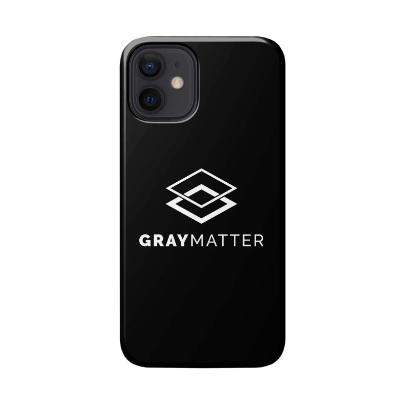 GrayMatter Accessories Phone Case by graymattermerch's Artist Shop