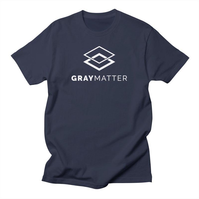 GrayMatter Men's T-Shirt by graymattermerch's Artist Shop