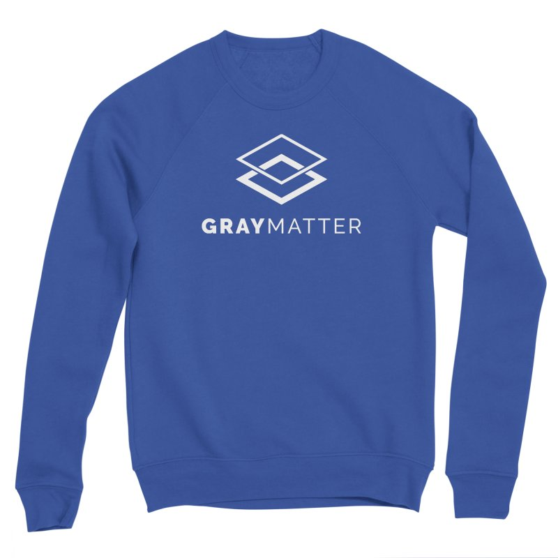 GrayMatter Men's Sweatshirt by graymattermerch's Artist Shop