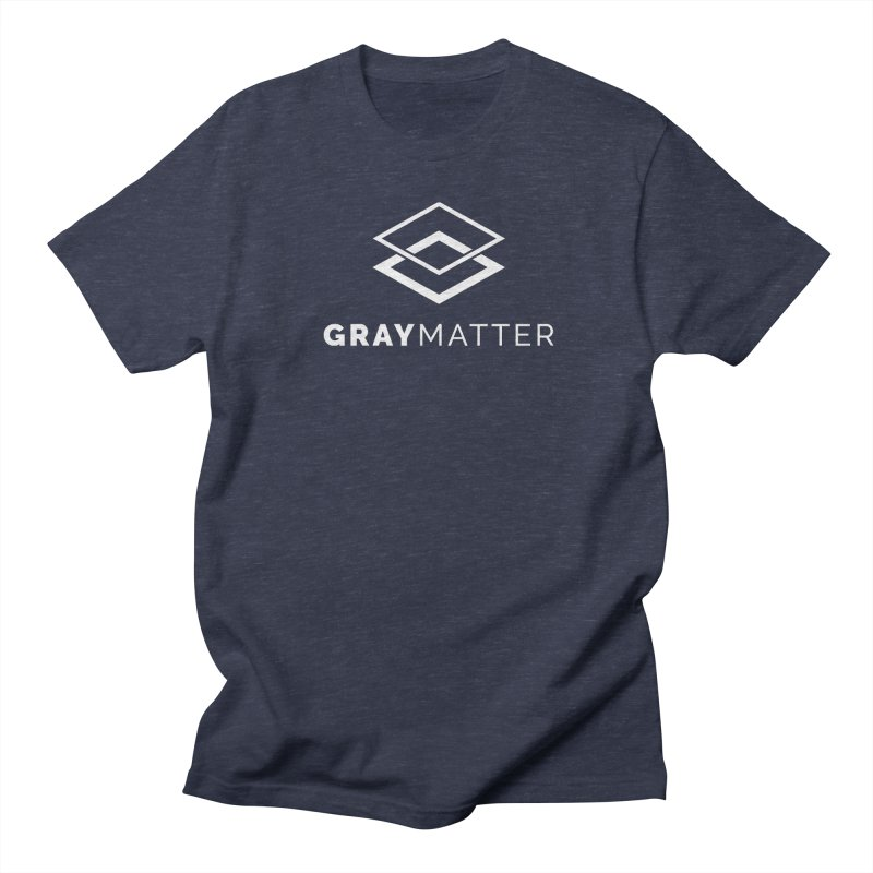 GrayMatter Men's T-Shirt by graymattermerch's Artist Shop