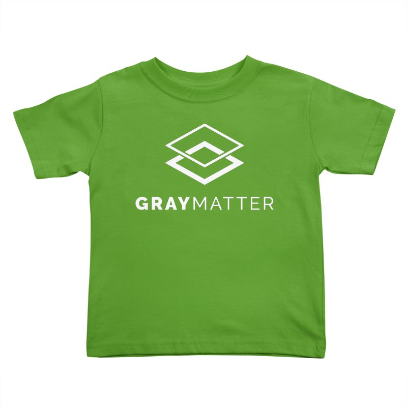GrayMatter Kids Toddler T-Shirt by graymattermerch's Artist Shop