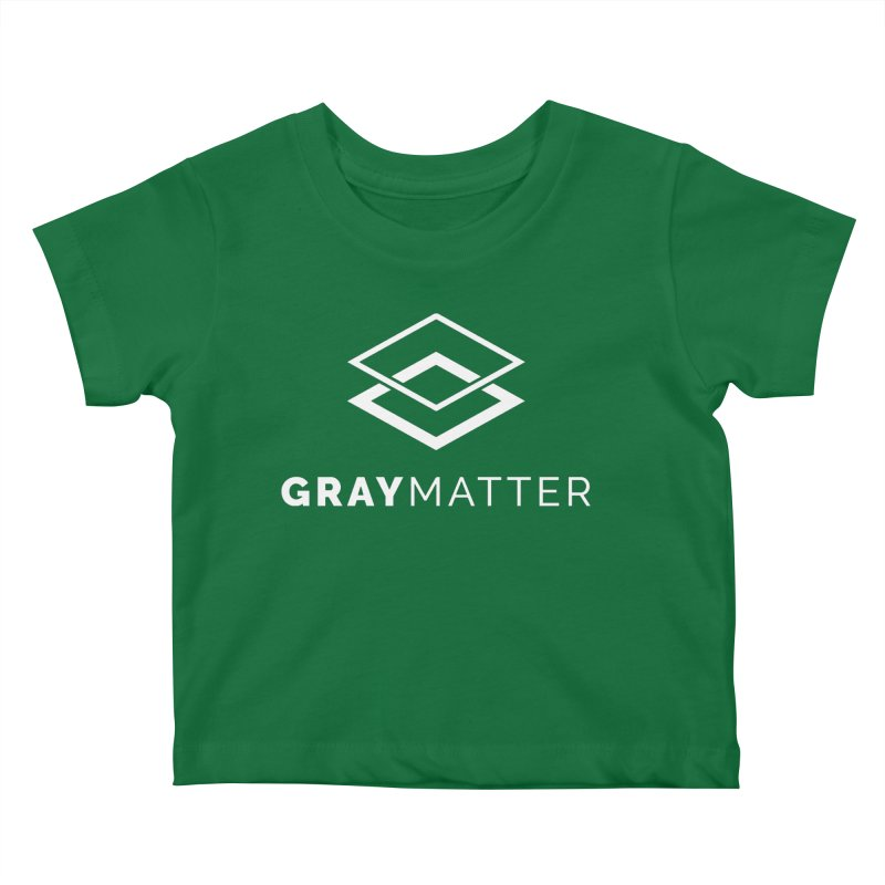 GrayMatter Kids Baby T-Shirt by graymattermerch's Artist Shop