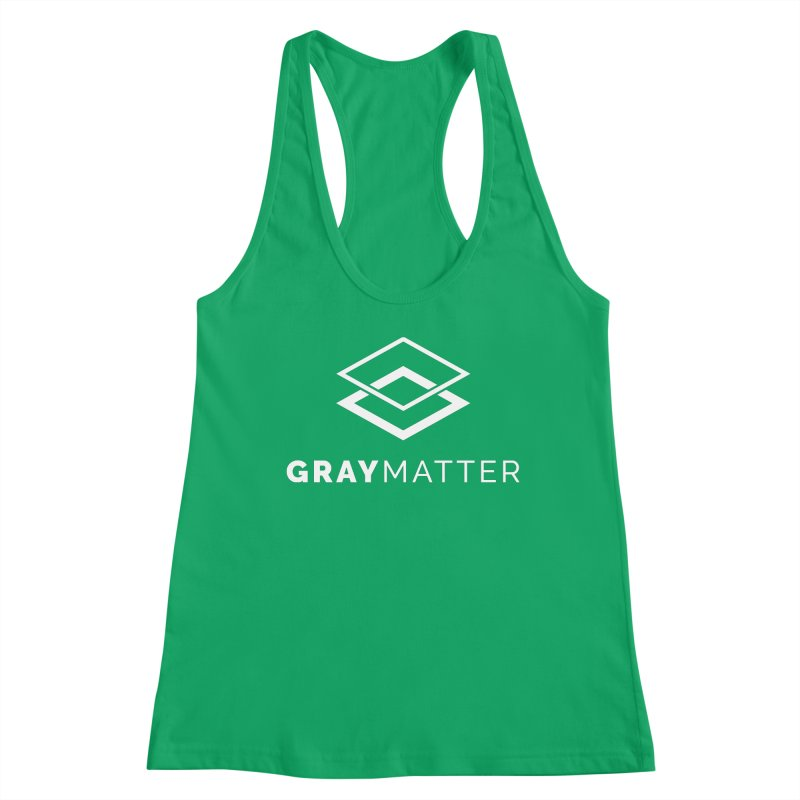 GrayMatter Women's Tank by graymattermerch's Artist Shop