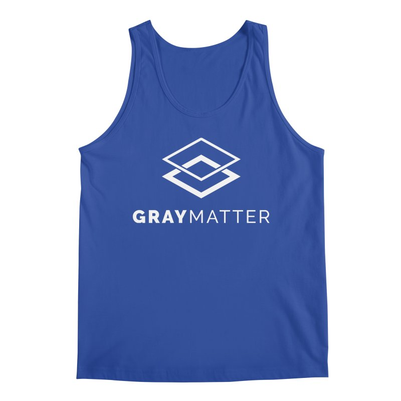 GrayMatter Men's Tank by graymattermerch's Artist Shop