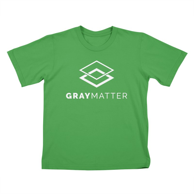 GrayMatter Kids T-Shirt by graymattermerch's Artist Shop