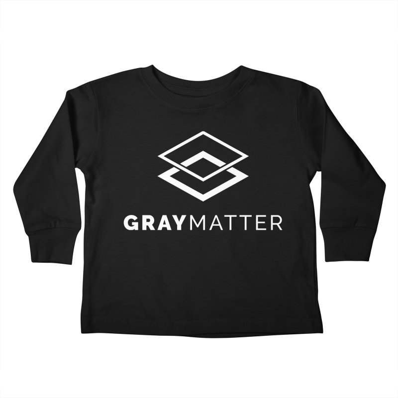 GrayMatter Kids Toddler Longsleeve T-Shirt by graymattermerch's Artist Shop