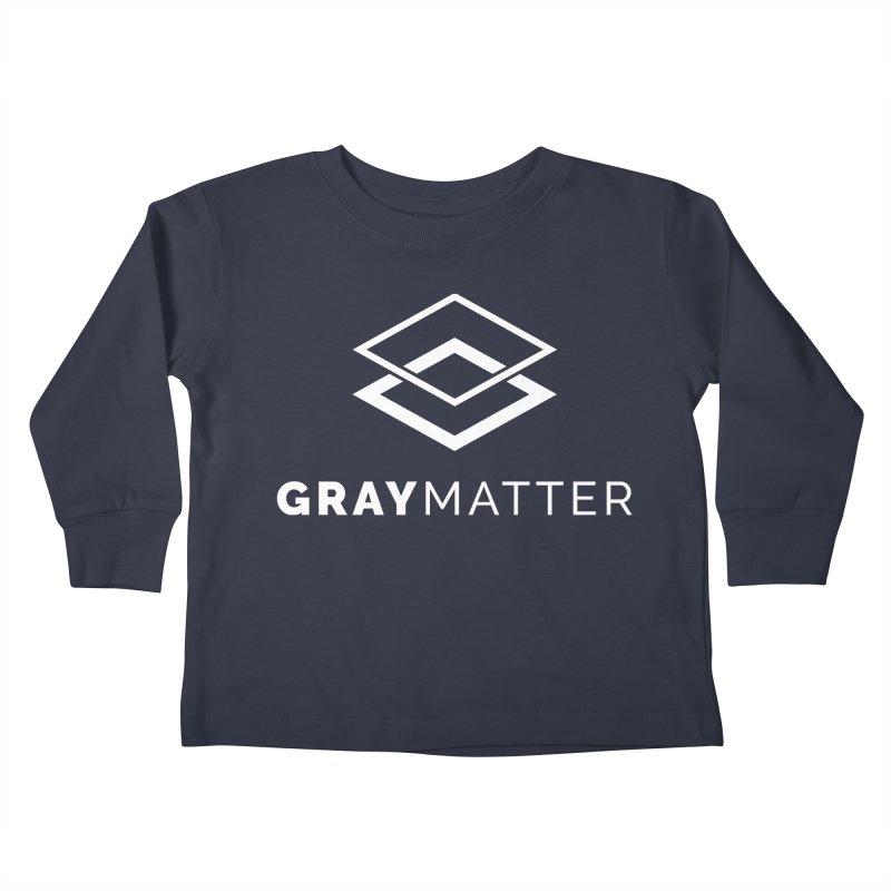 GrayMatter Kids Toddler Longsleeve T-Shirt by graymattermerch's Artist Shop