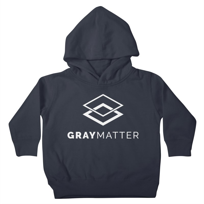 GrayMatter Kids Toddler Pullover Hoody by graymattermerch's Artist Shop