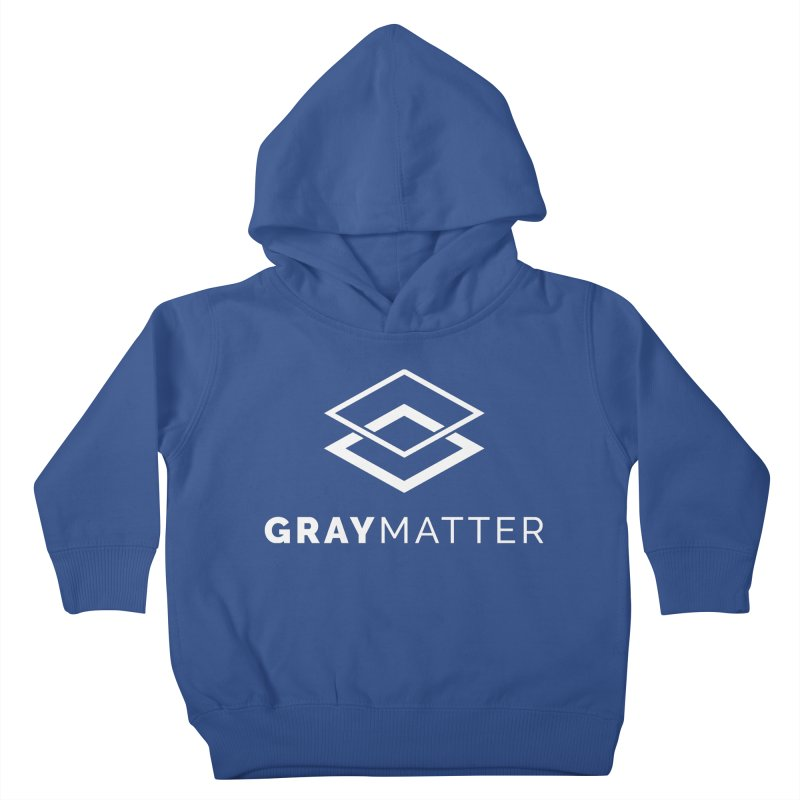 GrayMatter Kids Toddler Pullover Hoody by graymattermerch's Artist Shop