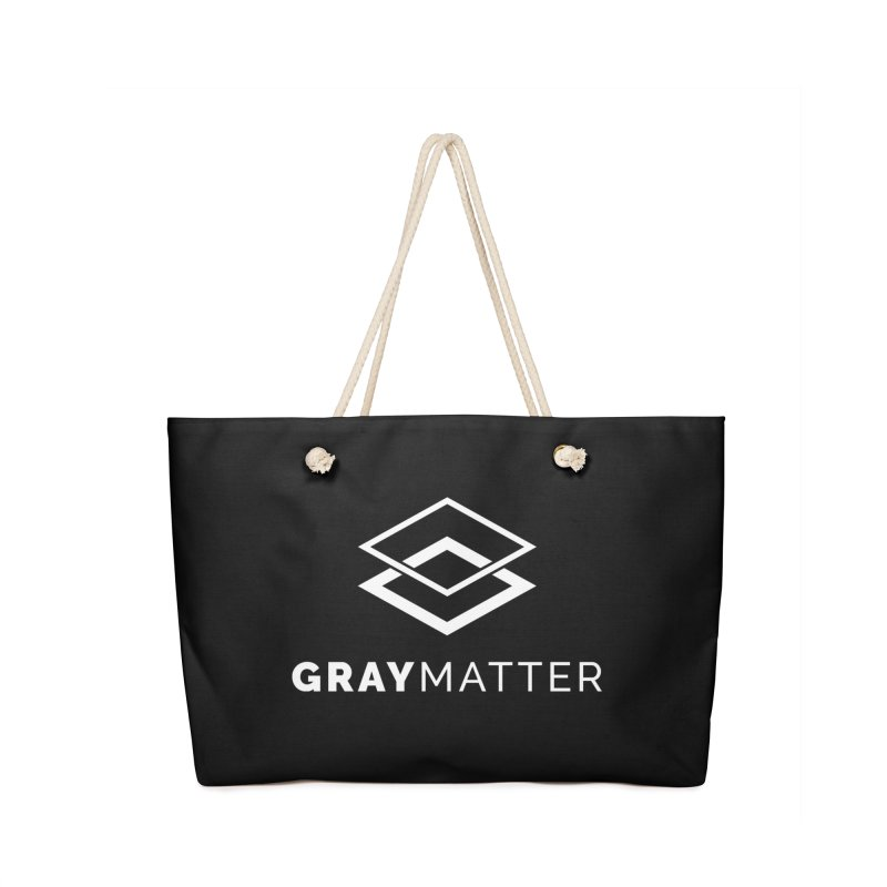 GrayMatter Accessories Bag by graymattermerch's Artist Shop
