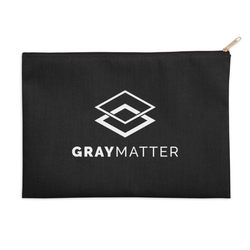 GrayMatter Accessories Zip Pouch by graymattermerch's Artist Shop