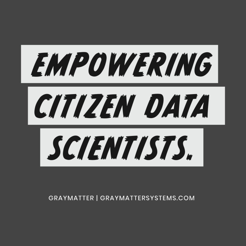 Empowering Citizen Data Scientists Men's Zip-Up Hoody by graymattermerch's Artist Shop