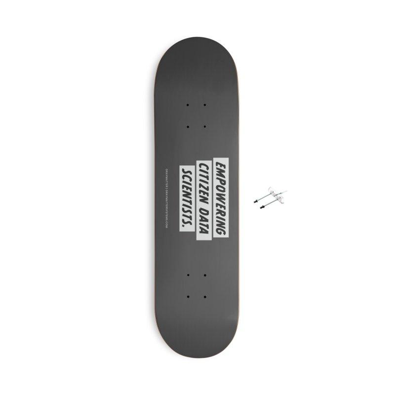 Empowering Citizen Data Scientists Accessories Skateboard by graymattermerch's Artist Shop