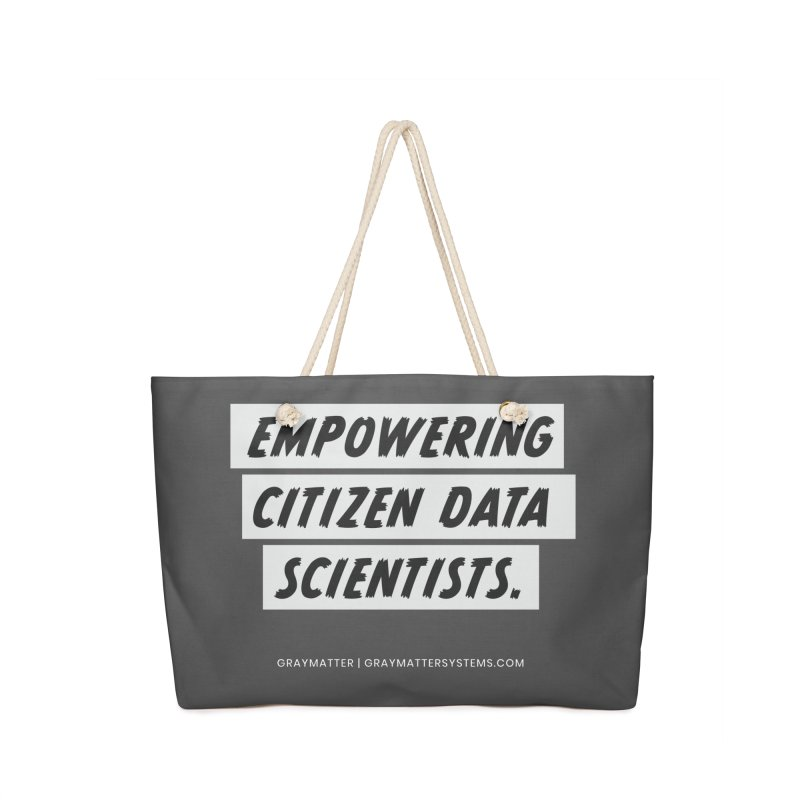 Empowering Citizen Data Scientists Accessories Bag by graymattermerch's Artist Shop
