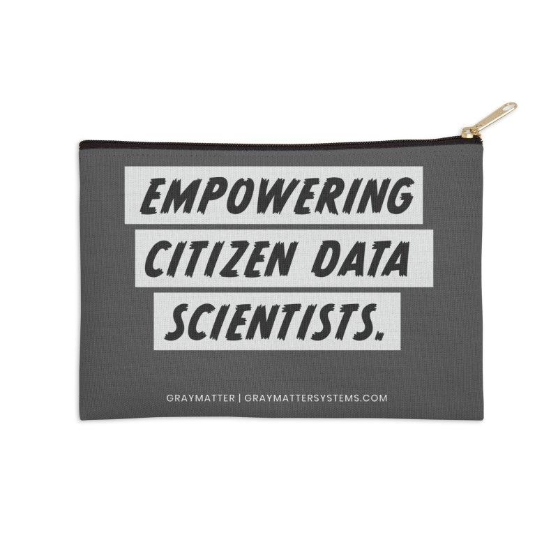 Empowering Citizen Data Scientists Accessories Zip Pouch by graymattermerch's Artist Shop