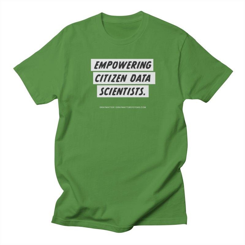 Empowering Citizen Data Scientists Men's T-Shirt by graymattermerch's Artist Shop