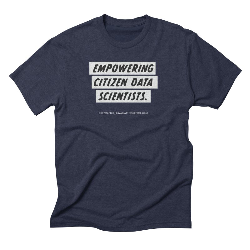 Empowering Citizen Data Scientists Men's T-Shirt by graymattermerch's Artist Shop