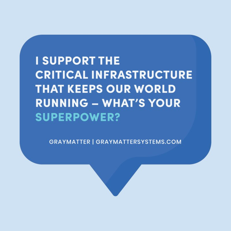 I Support the Critical Infrastructure That Keeps Our World Running Accessories Sticker by graymattermerch's Artist Shop
