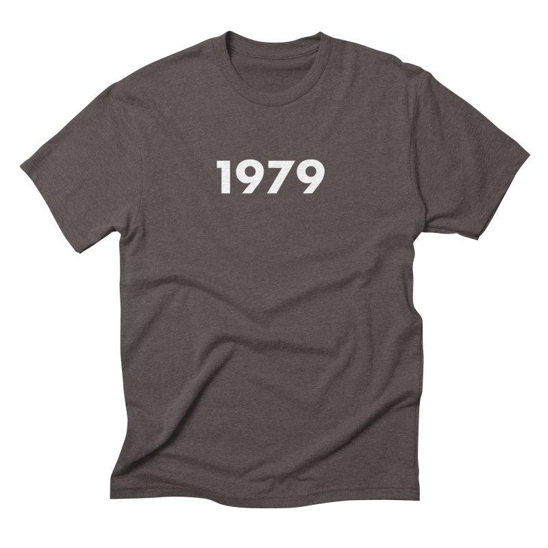 1979 Logo Men's Triblend T-Shirt by Grayscale