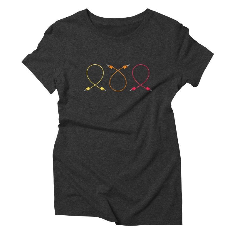 Nanas (warm) Women's Triblend T-shirt by Grayscale