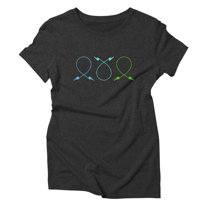 Nanas (cool) Women's Triblend T-Shirt by Grayscale