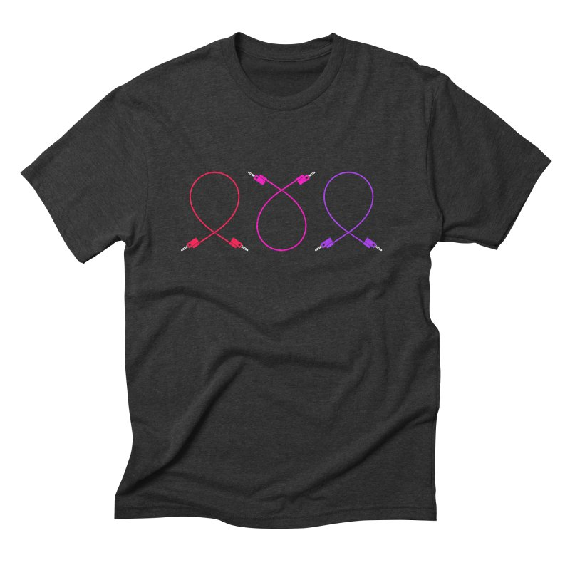 Nanas (neon) Men's T-Shirt by Grayscale