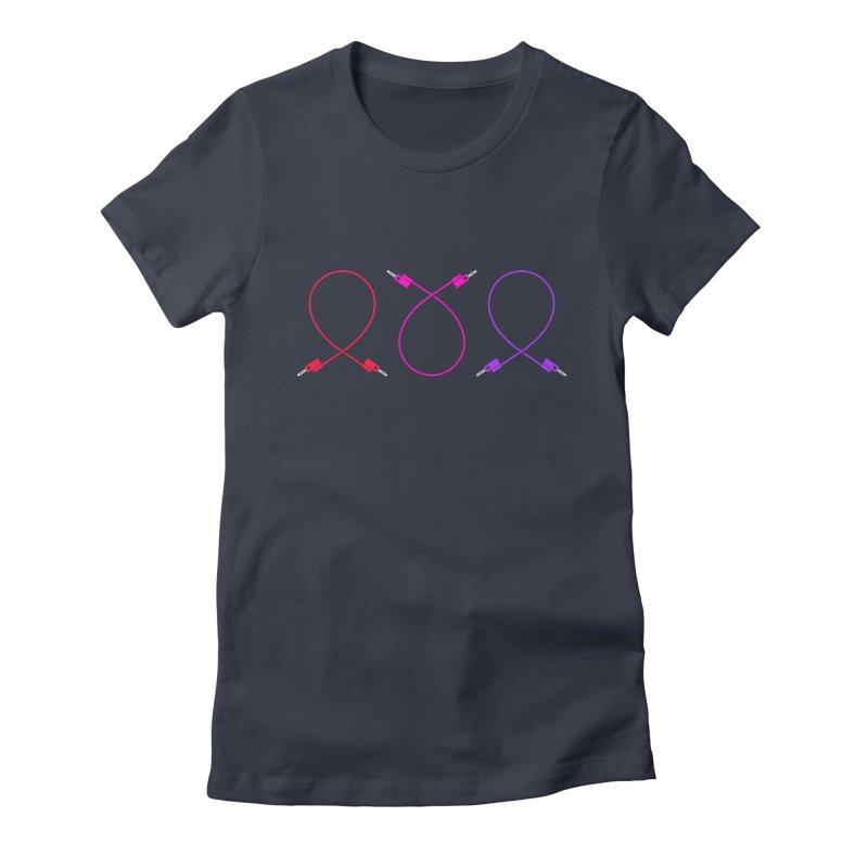 Nanas (neon) Women's T-Shirt by Grayscale