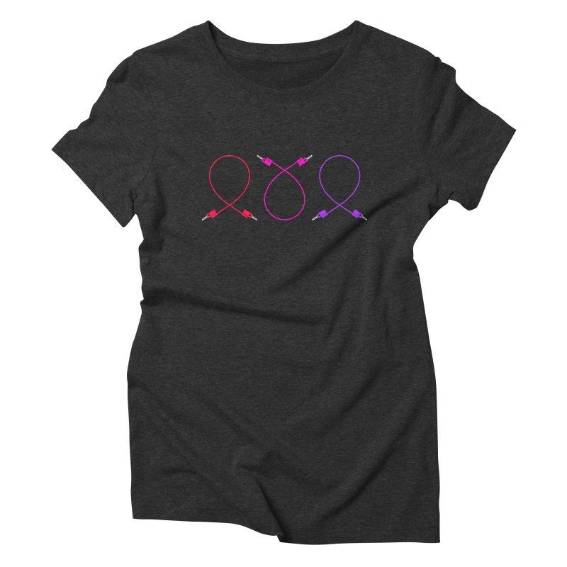 Nanas (neon) Women's Triblend T-Shirt by Grayscale