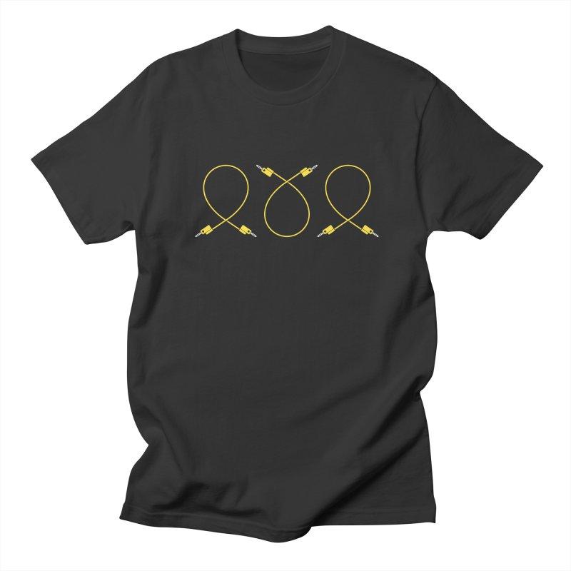 Nanas (yellow) Men's Regular T-Shirt by Grayscale
