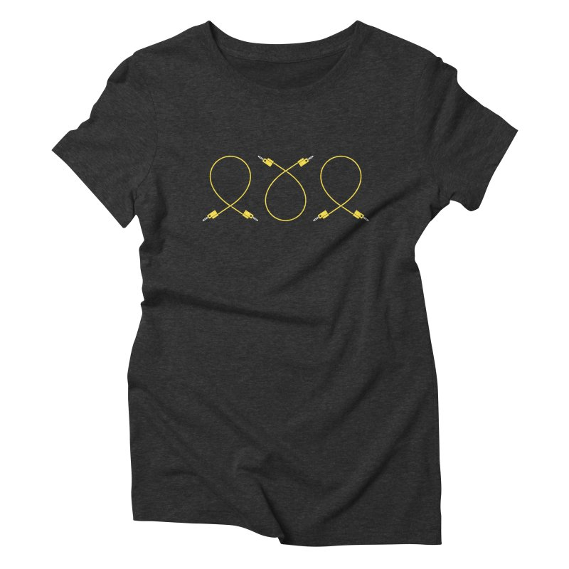 Nanas (yellow) Women's Triblend T-Shirt by Grayscale