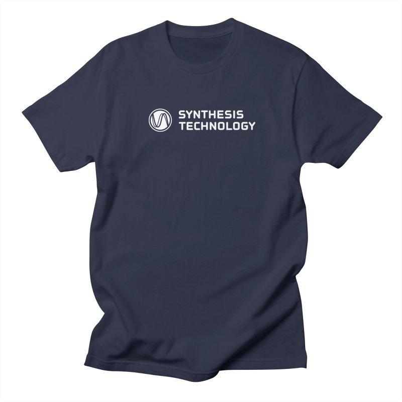 Synthesis Technology Men's T-shirt by Grayscale