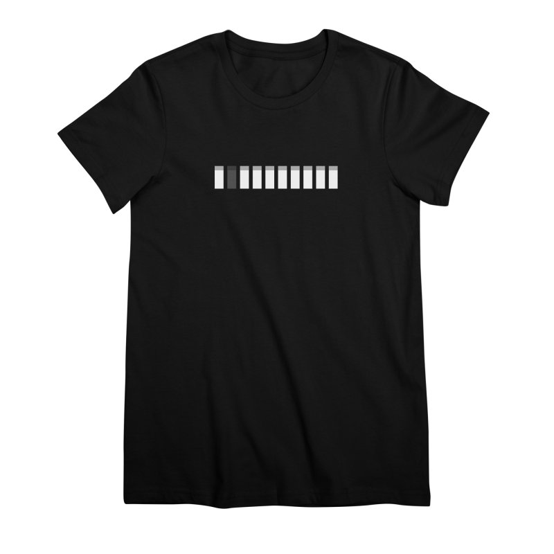Grayscale Permutation Women's Premium T-Shirt by Grayscale