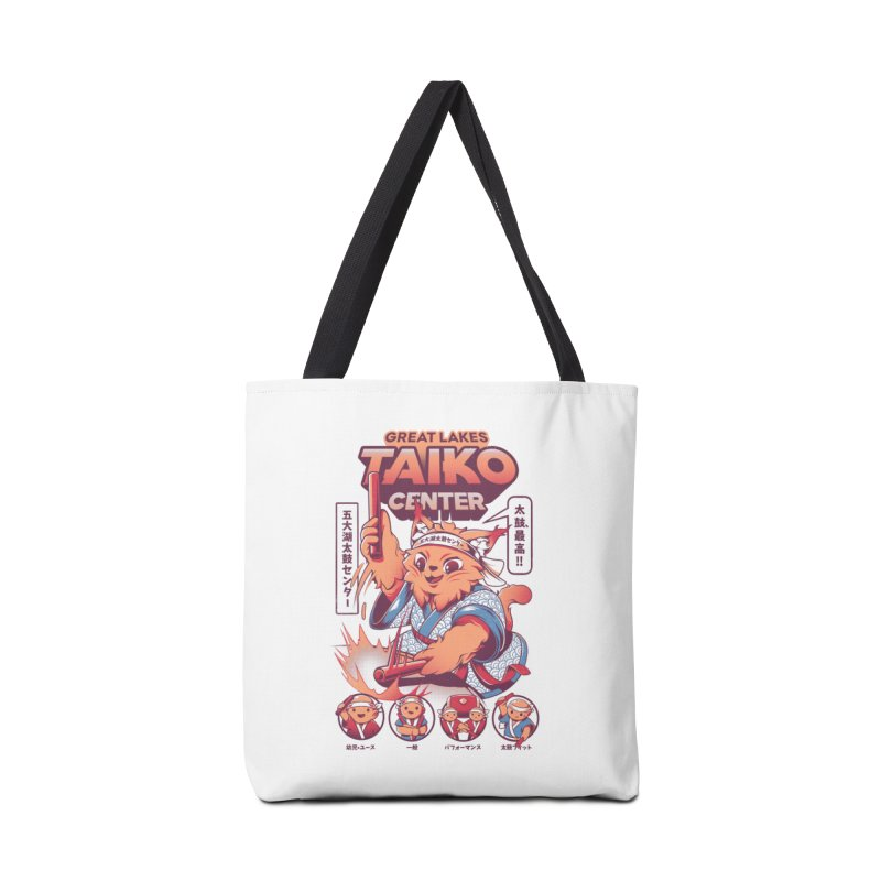 Great Lakes Taiko Center Accessories Tote Bag Bag by Great Lakes Taiko Center's Merch Shop